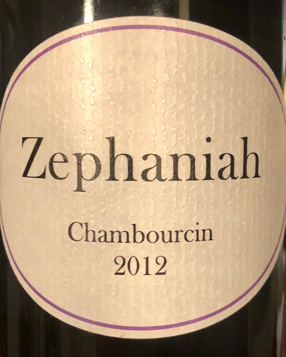 Zephaniah Chambourcin