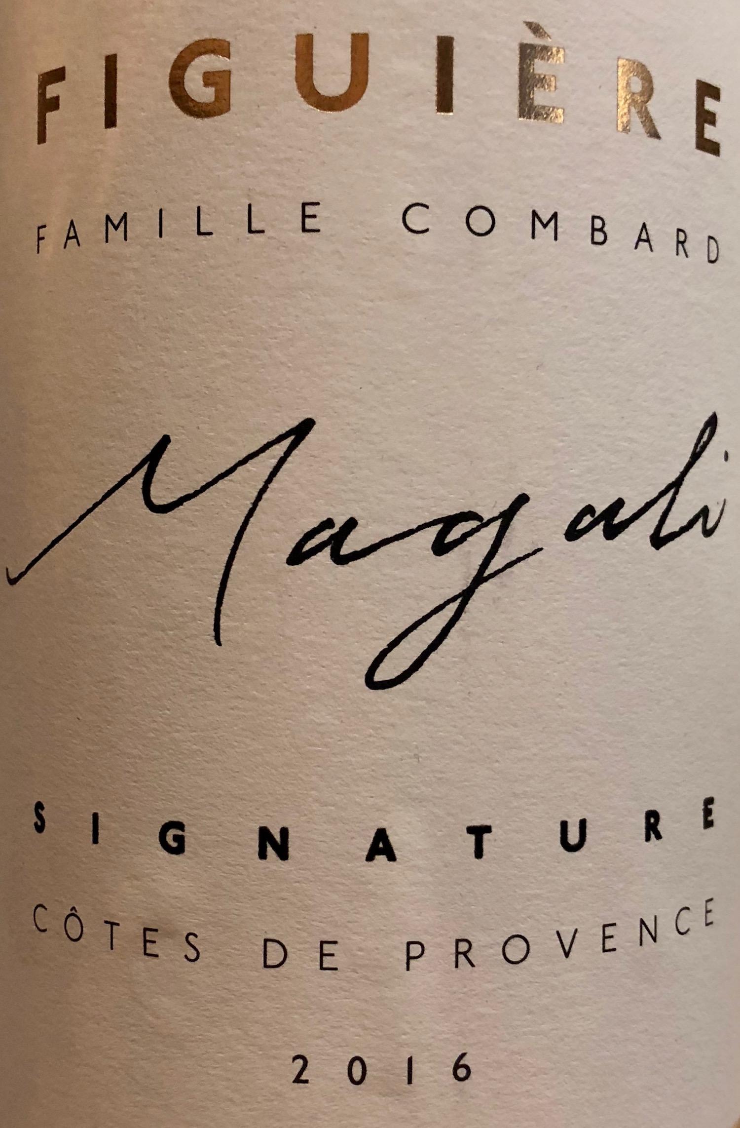 Famille Combard Côtes de Provence Magali Figuière