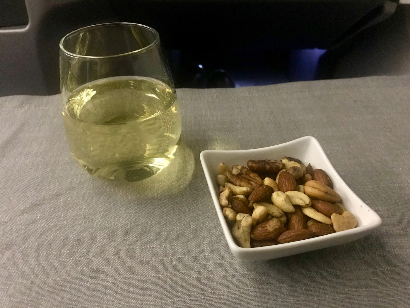 Warm Nuts + Albariño