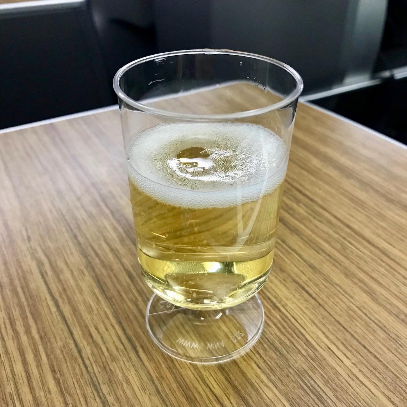 Pre-Departure Champagne