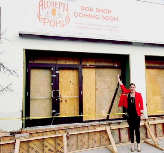 Every new thing has to start somewhere. Check out this throwback pic of the shop under construction!