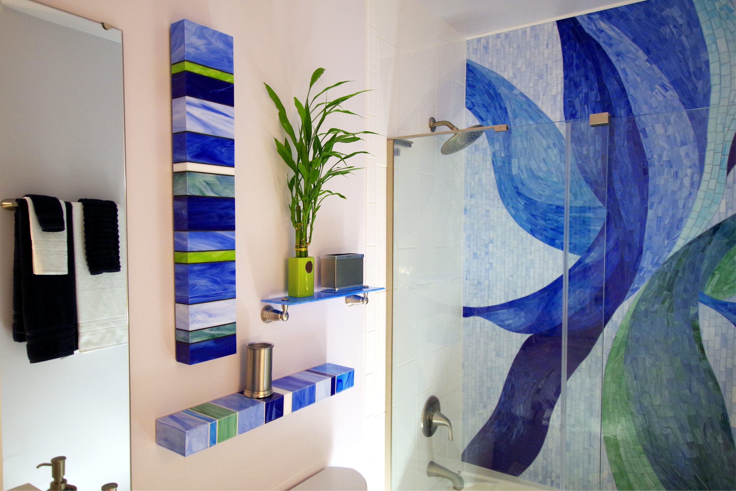 Bathroom Glass Mosaic