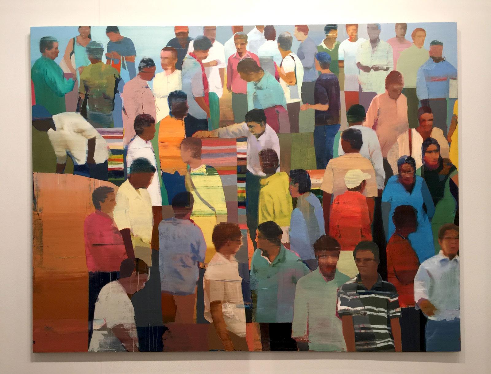 Suhas-Bhujbal-Market-5-oil-canvas-Andrea-Schwartz-Gallery.jpg