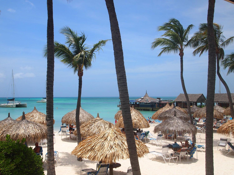 Giselle Ayupova Aruba Palm Beach Vacation Part 2