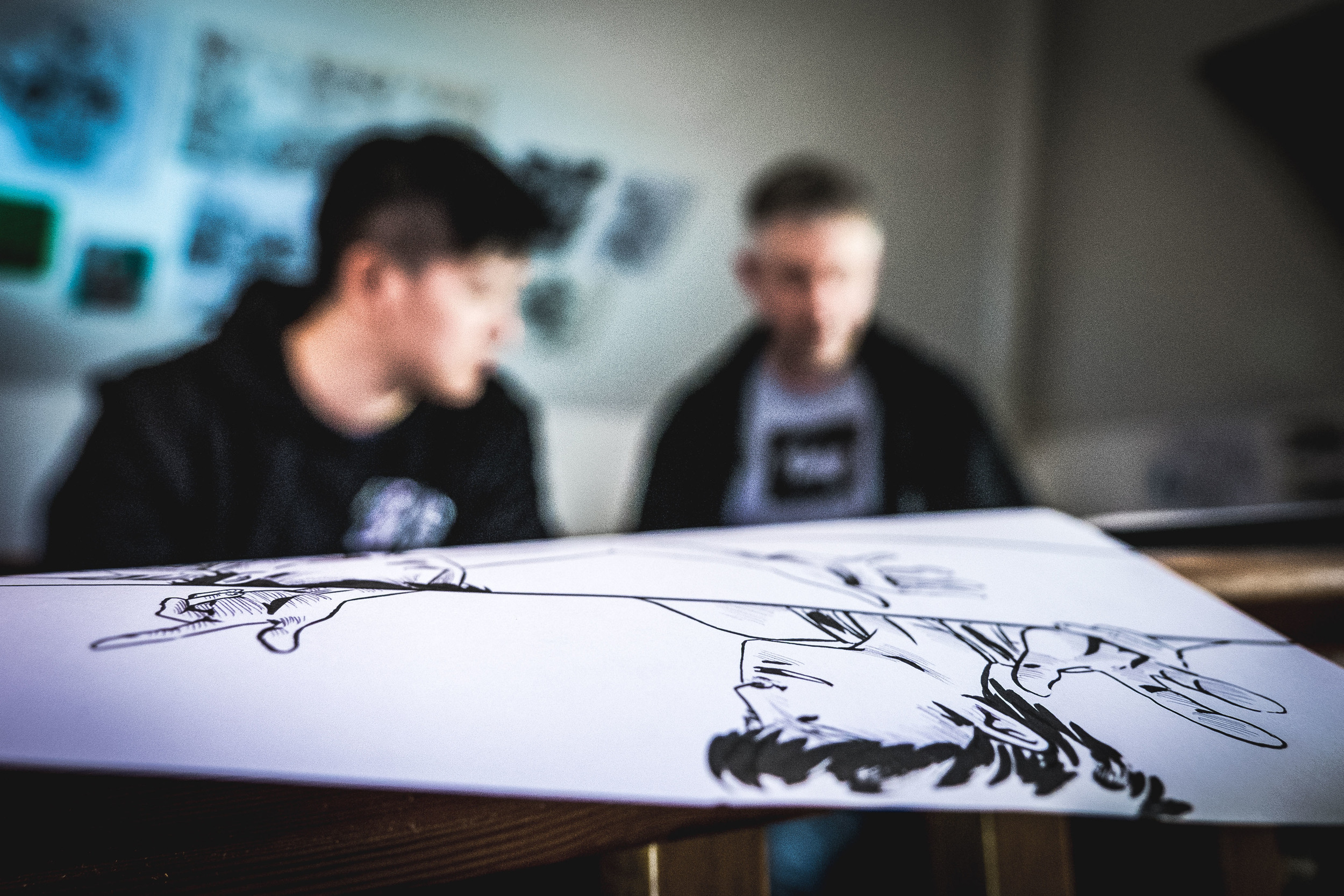 Collaborating with talented local artist, Dom Tsoi, to visualise a story which has been in the making for many years...