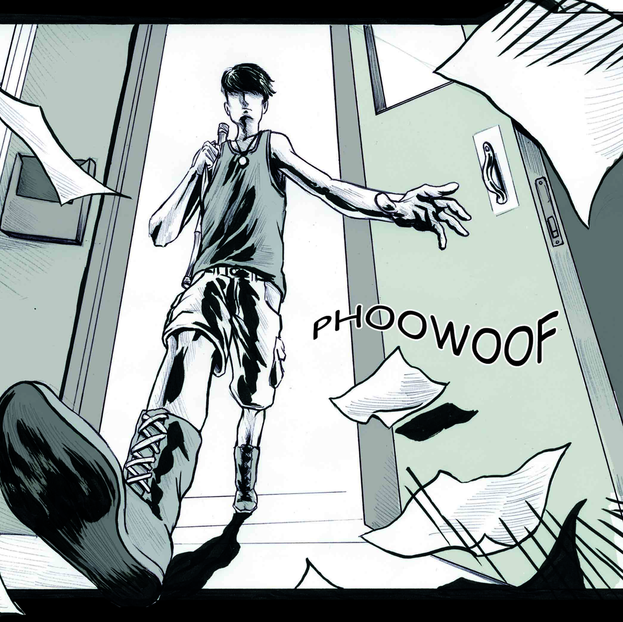 Timo steps out into the World of the Comic book!