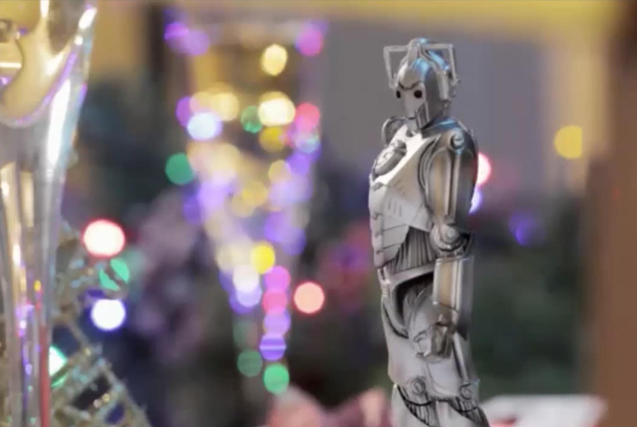 The Christmas cyberman