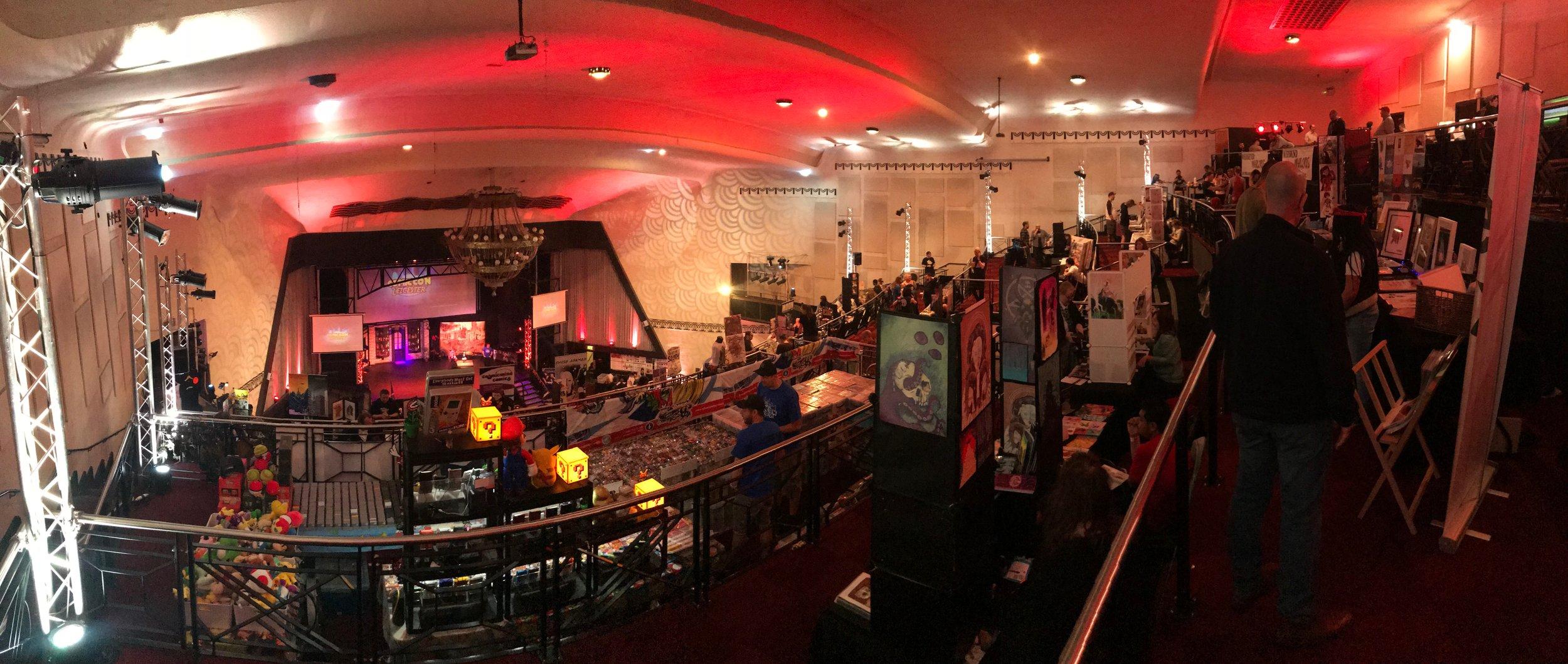 Leicester Comic Con Venue, The Athena