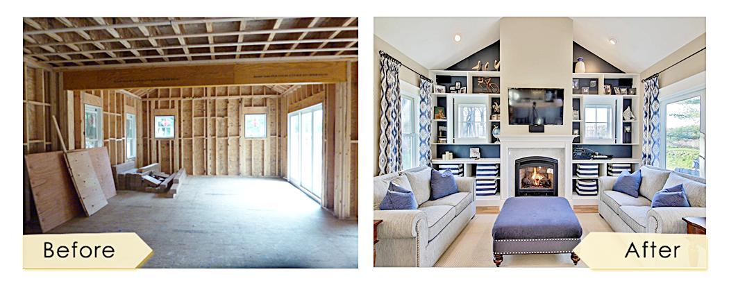 38 North Atkinson Street Newburyport Massachusetts living room design by lisa jensen interior design