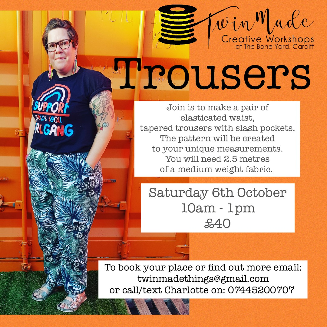 New Workshop: Trousers