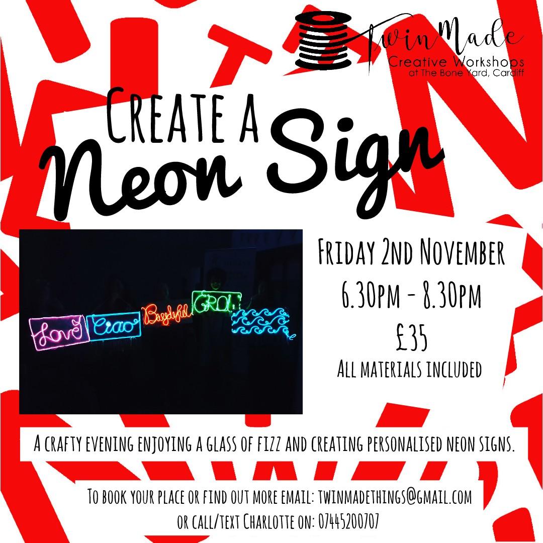 Create a Neon Sign