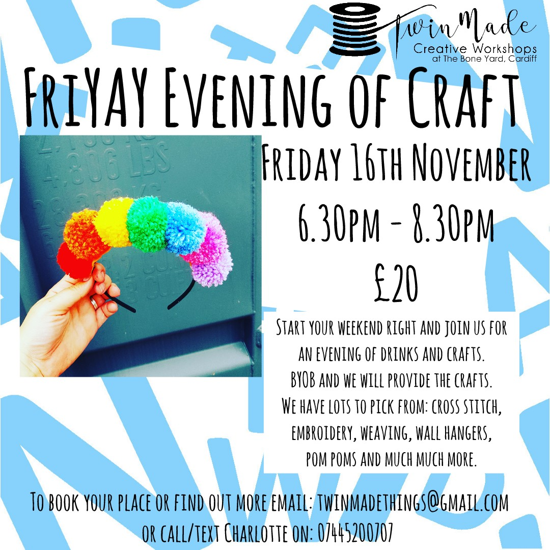 FriYAY Evening of Craft