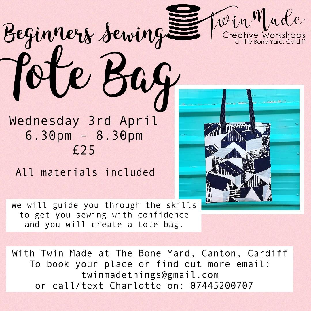 Beginners Sewing Tote Bag