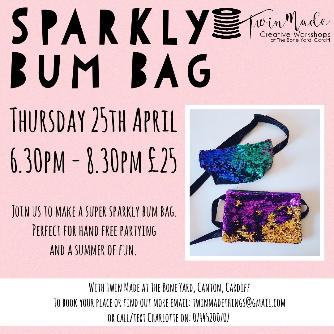 Sparkly Bum Bag