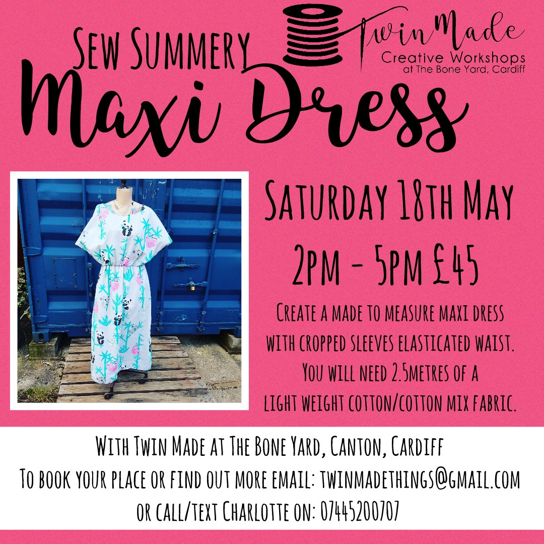 Sew Summery Maxi Dress