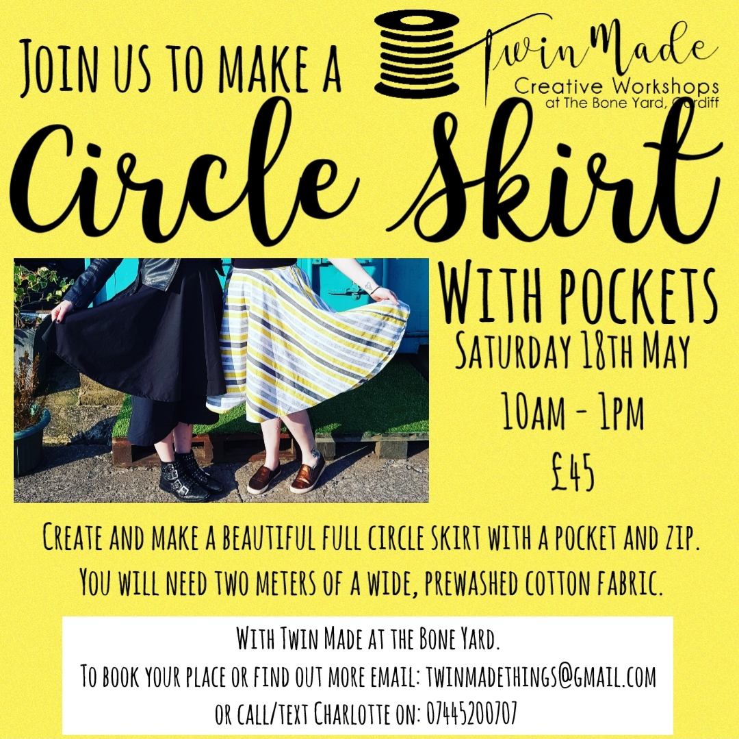 Circle Skirt with pockets