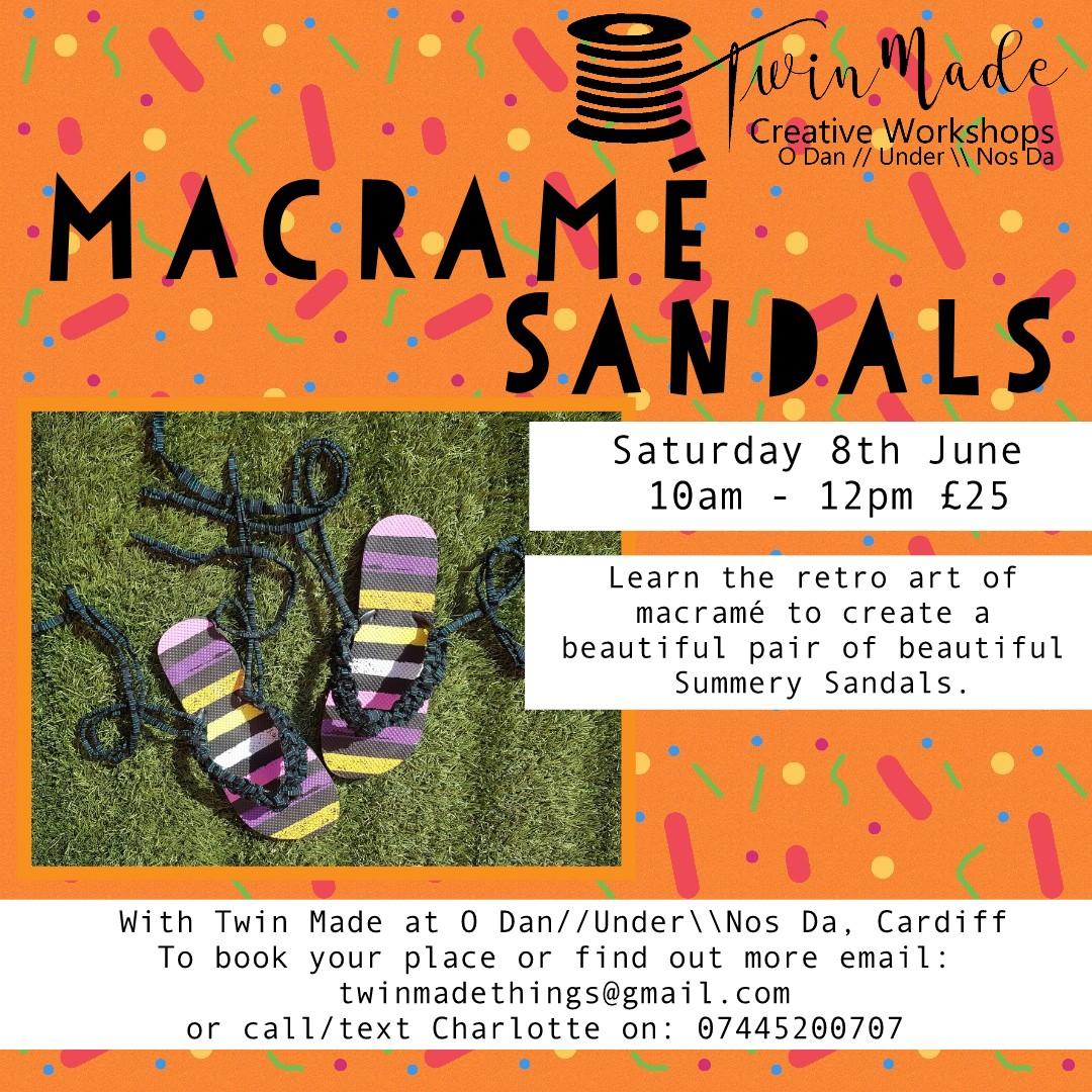 Macramé Sandals