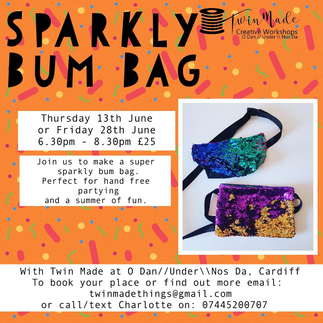 Sparkly Bum Bags