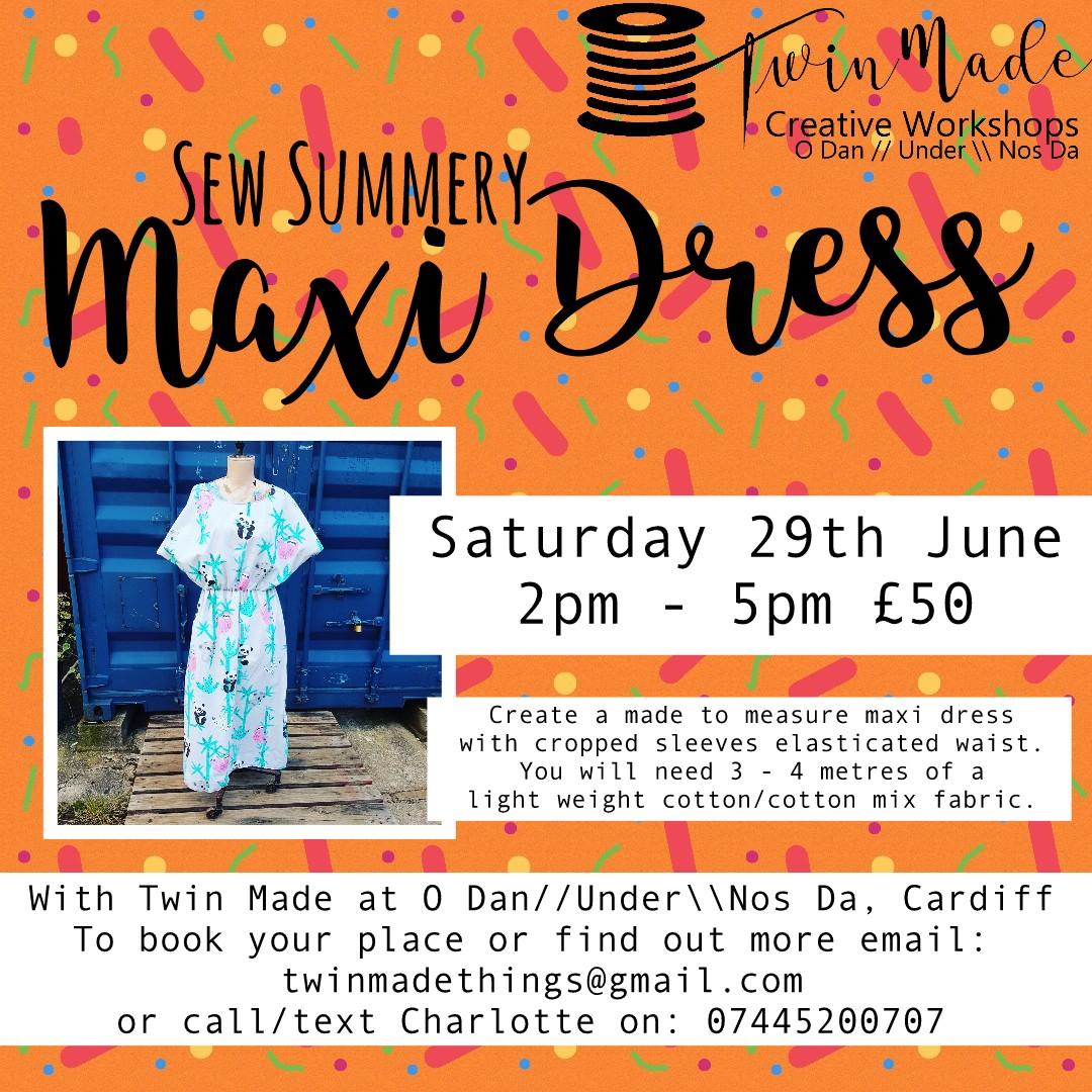 Sew Summery Maxi Dress