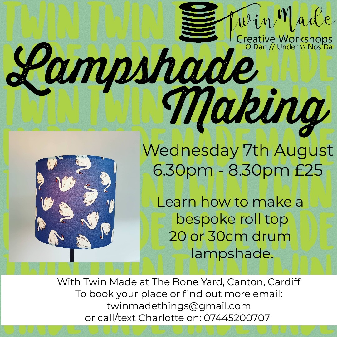 Wednesday 7th August - Lampshade - 6.30pm - 8.30pm £25