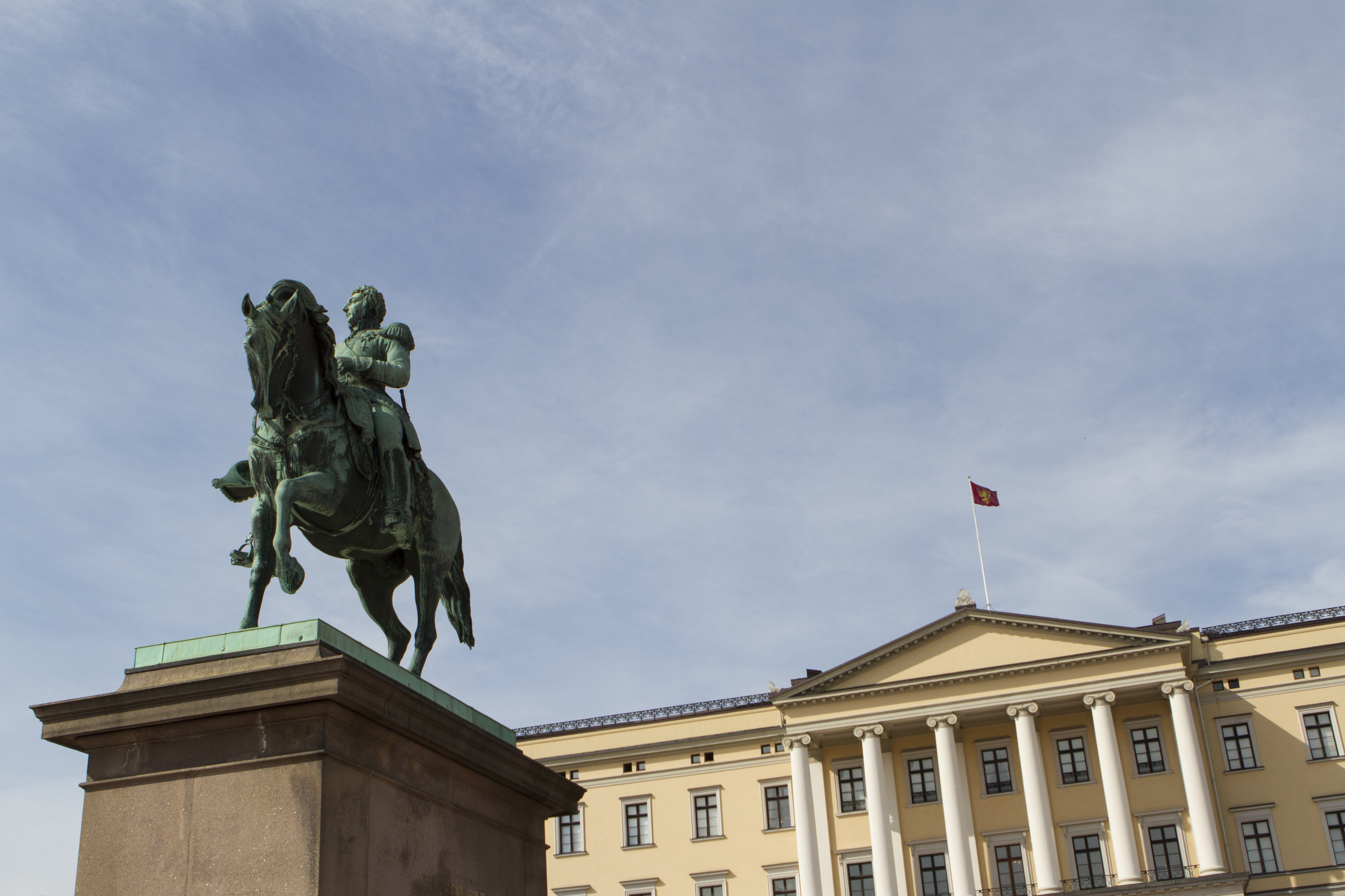 Oslo's Royal Palace