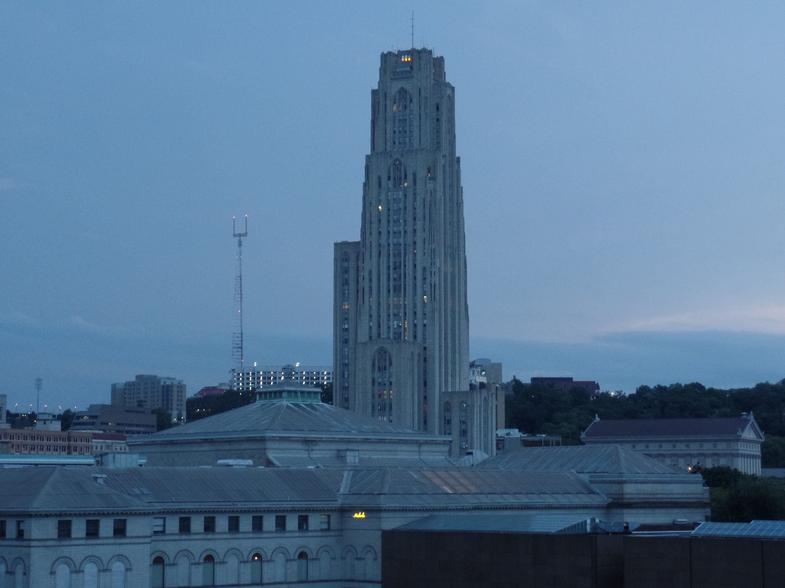 Still, Behold: The Cathedral of Learning