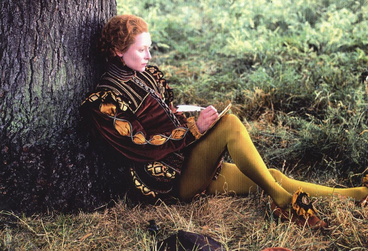 Tilda Swinton as Orlando, 1992.