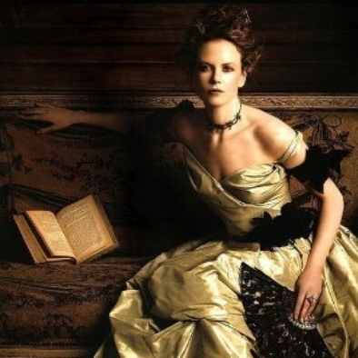Nicole Kidman from  The Portrait of a Lady.