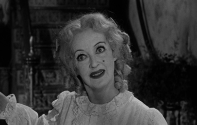 Bette Davis' Best Lead Actress nomination was among five Oscar nods for  What Ever Happened to Baby Jane  (1962, Aldrich).