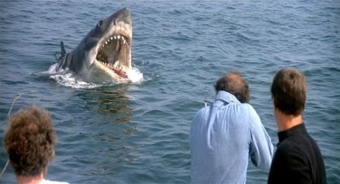 Despite missing out on nominations in Best Director and Best Adapted Screenplay,  Jaws  (1975, Spielberg) garnered four Oscar nods, including Best Picture.