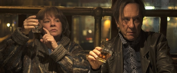 Melissa McCarthy and Richard E. Grant in  Can You Ever Forgive Me?