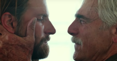 Bradley Cooper and scene-stealing Sam Elliott in  A Star Is Born
