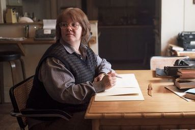 The marvelous Melissa McCarthy in  Can You Ever Forgive Me?