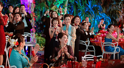 The sparkling cast of  Crazy Rich Asians