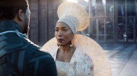 The incomparable Angela Bassett in  Black Panther