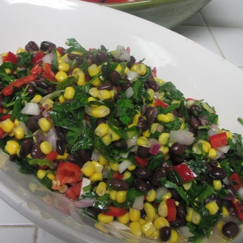 BLACK BEAN AND THREE PEPPERS SALAD.jpg