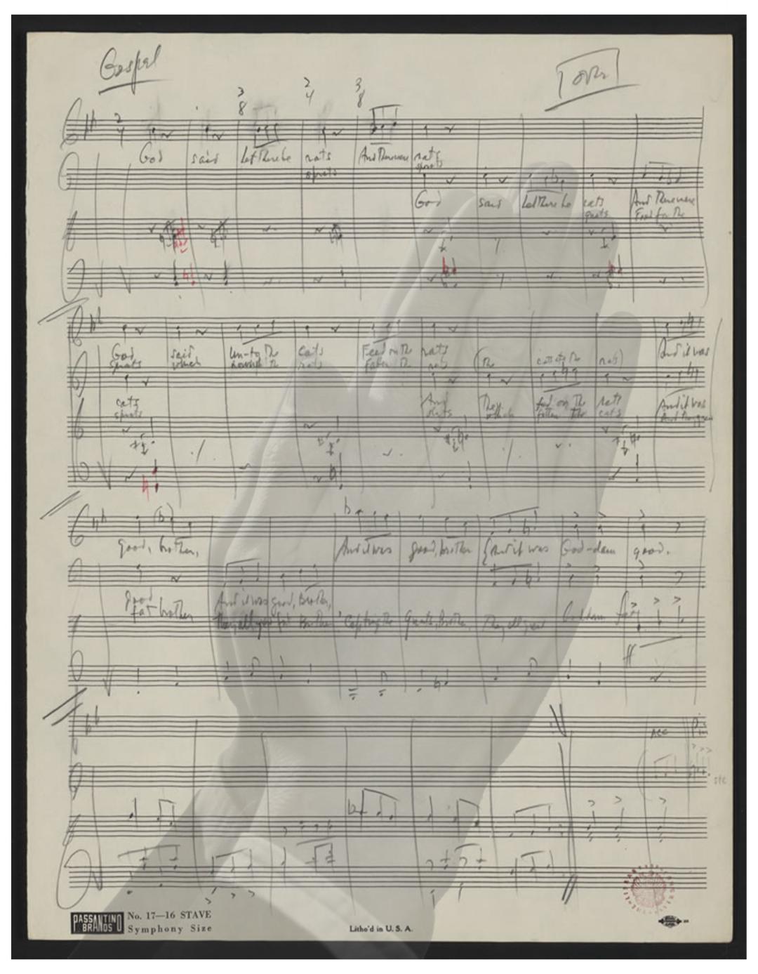 """""""Gospel"""" from Leonard Benstein's    Mass    (1971)"""