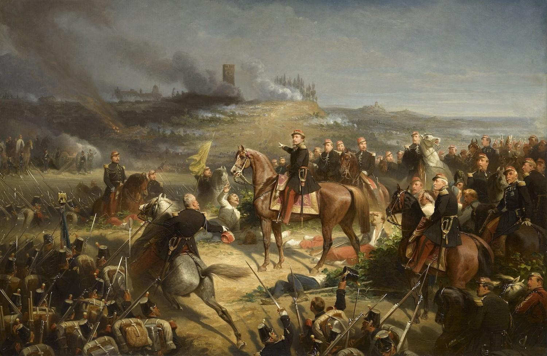 Adolphe Yvon,Bataille de Solférino