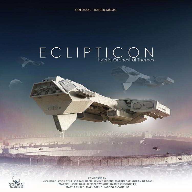 CTM023 Eclipticon   Tracks:  Alien Armada ,  Earth's Last Stand