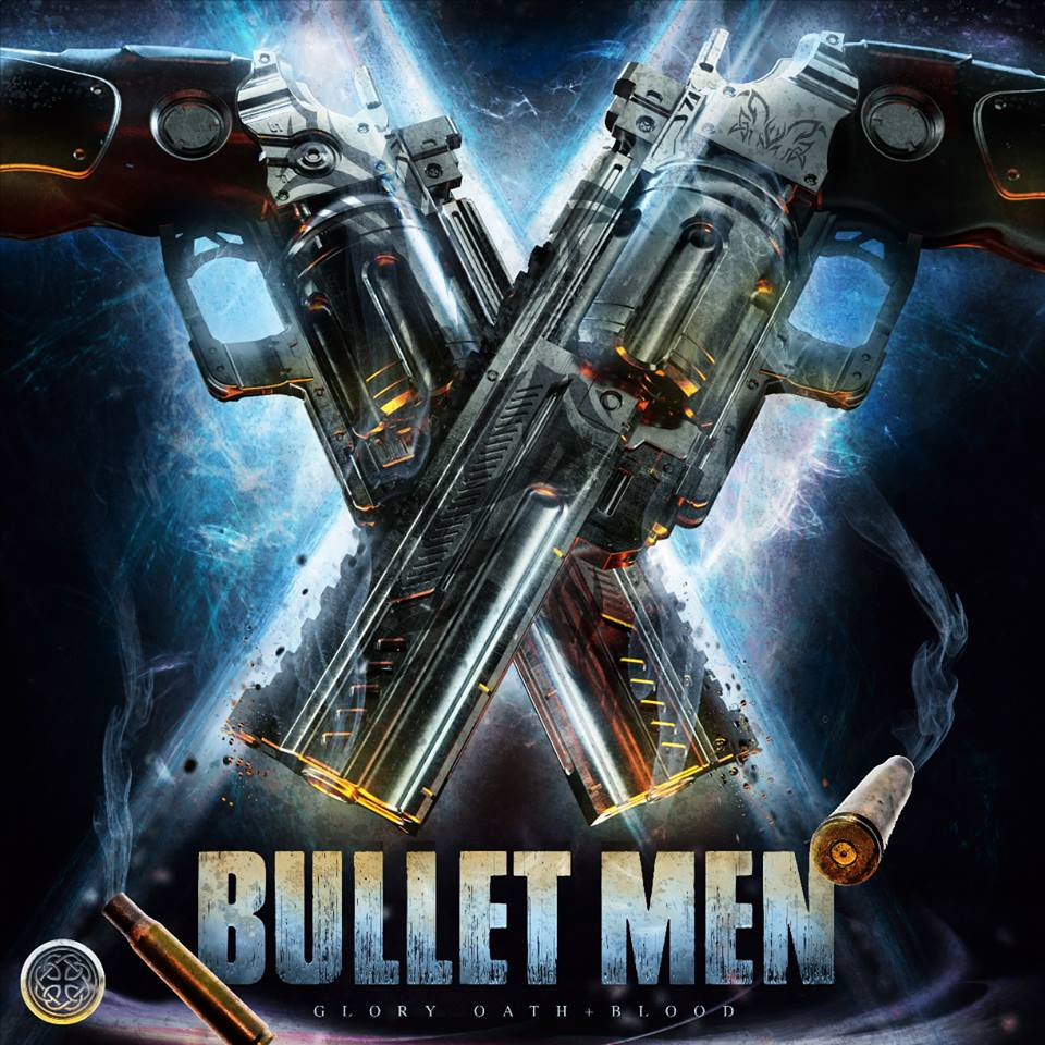 GOB014 Bullet Men   Tracks:  Swagged Out Barracuda ,  Wildcat Like Crazy ,  Rampage Feels Good ,  Mercenaries Live Forever