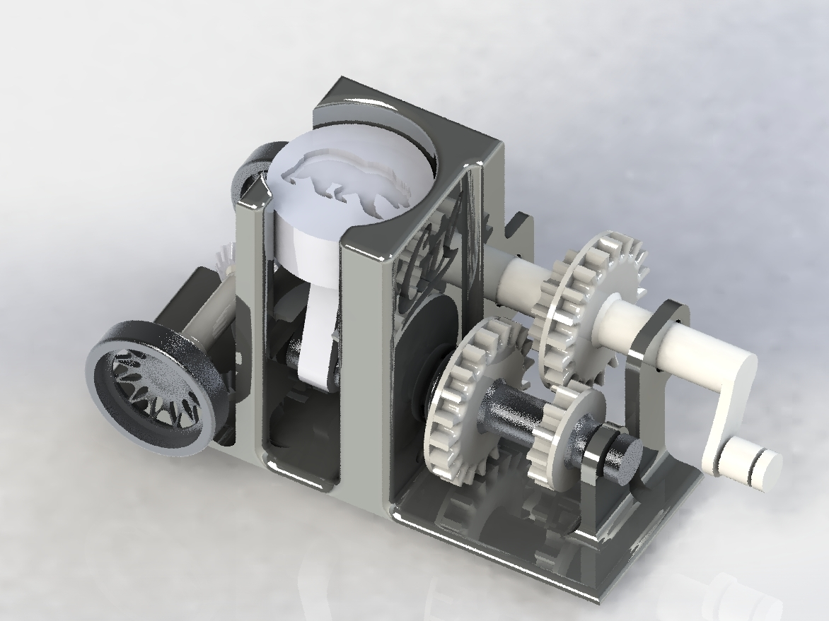 SolidWorks Powertrain Render