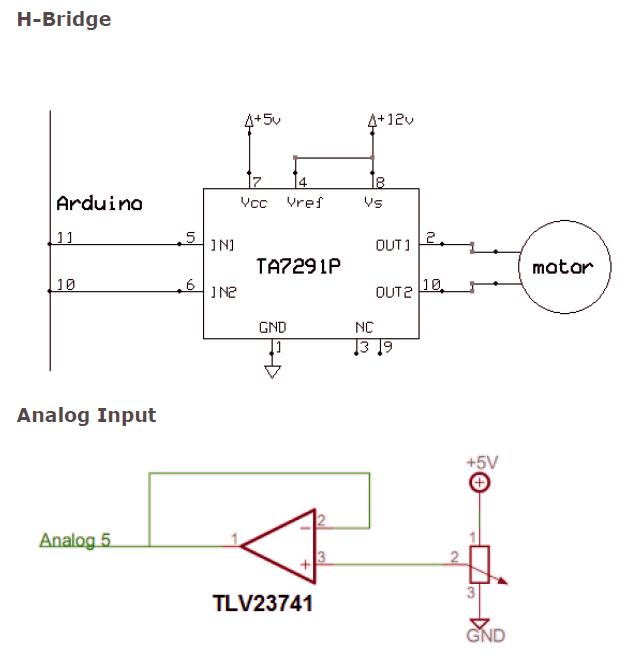 motor throttle diagram