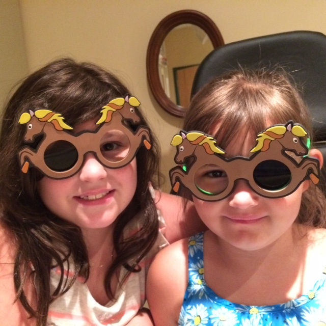 Two pediatric opthalmology patients