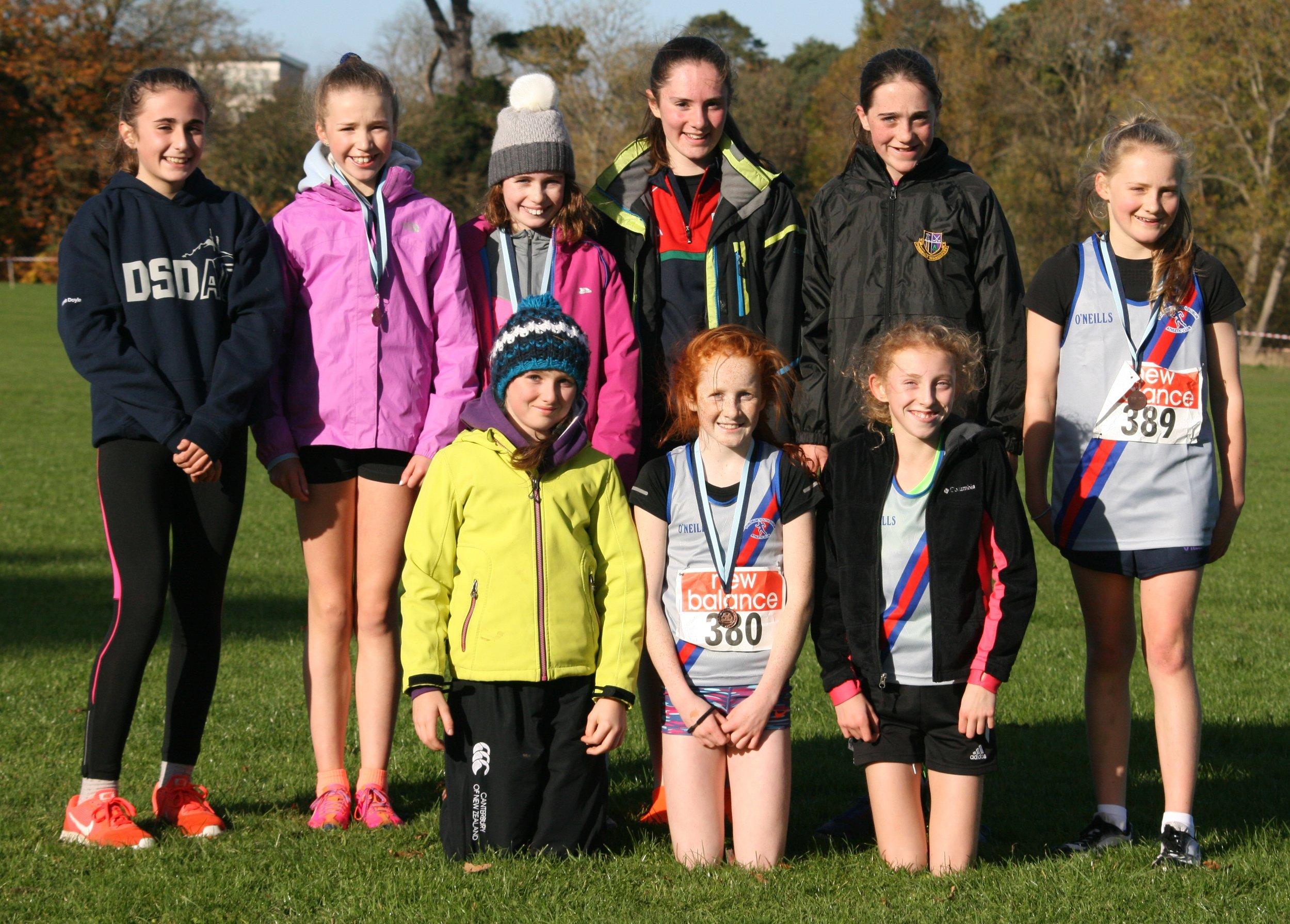 U13 Girls Winning Team.JPG