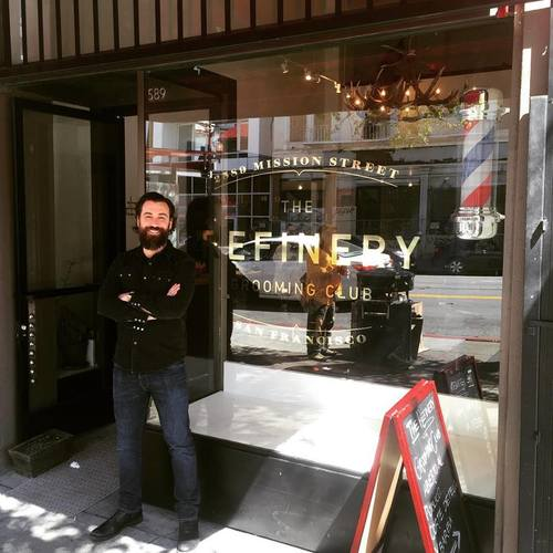 Originally from Atlanta, Georgia, Tony DiCaro is the owner and operator of The Refinery Grooming Club.  Tony brings to the chair over a decade of experience as a cosmetologist, having trained at the Aveda Institute.  After years of everything from fades and pompadours, to color jobs and big blow outs, Tony settled into his stylist sweet spot in San Francisco:  precise short hair cuts and beard trims.  Tony opened The Refinery Grooming Club in January of 2016, and is excited to do business in the Mission District.  Working with a team of great stylists and barbers, Tony and the Refinery Team are redefining the men's grooming experience.