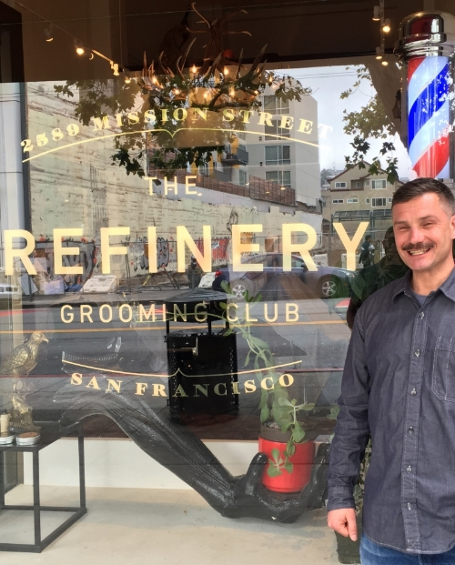 Duane joined the crew at The Refinery in April 2016.  A Pennsylvania native, he's lived in San Francisco since 2002.  Recently Duane added barbering to his long list of life skills, and has quickly found a loyal clientele due his laid back persona, his attentive eye, and his great haircuts.  Duane's here and he's ready to cut you.
