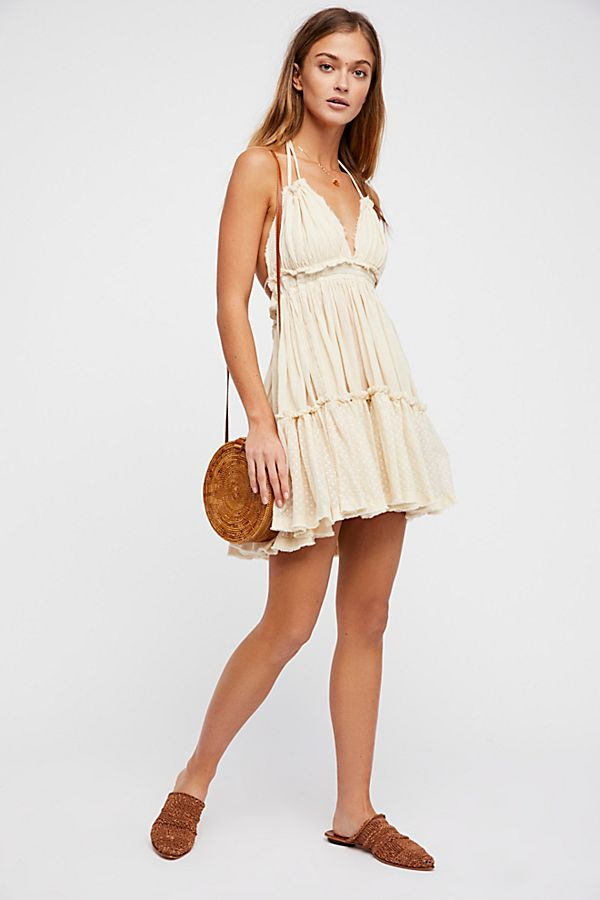 Free People 100 Degree Mini Dress in Light Tan - Price: $78.00Size: LARGE or XLYou Get: Add this dress to any other donation and receive 6 bonus images$150.00 value