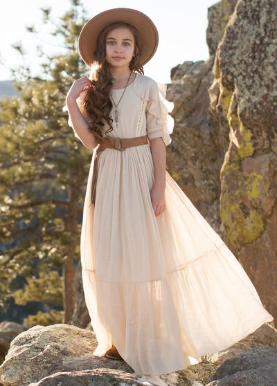 Joyfolie Zadie Dress in Cream - Price: $39.99Size: ANY- 2-6. Please make sure this is the little girls dress size.You Get: Add this on to any other donation to get 4 bonus images$100 value