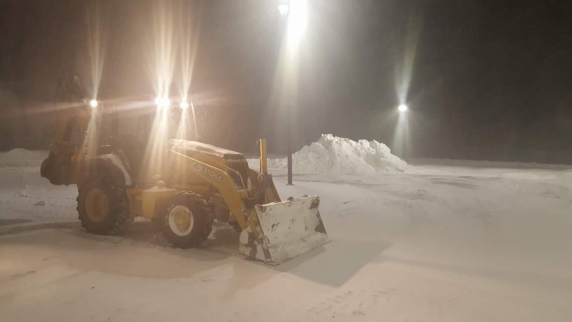 Commercial Snow Removal Services Baltimore and Anne Arundel County