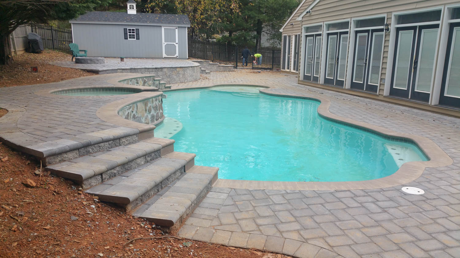 Maryland Pool Deck and Patio Contruction